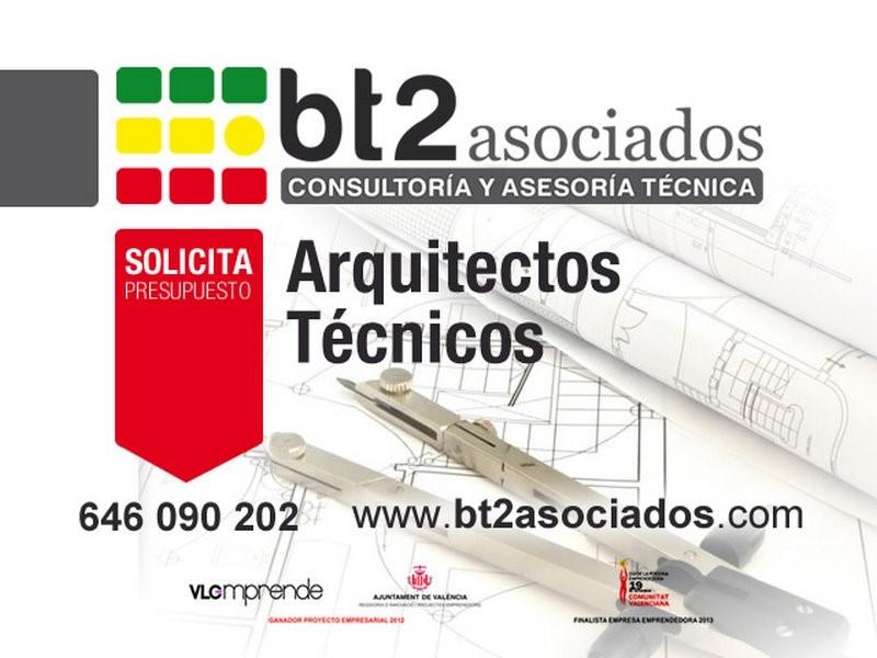 Arquitecto t cnico en valencia bt2 asociados consultor a - Arquitecto tecnico valencia ...