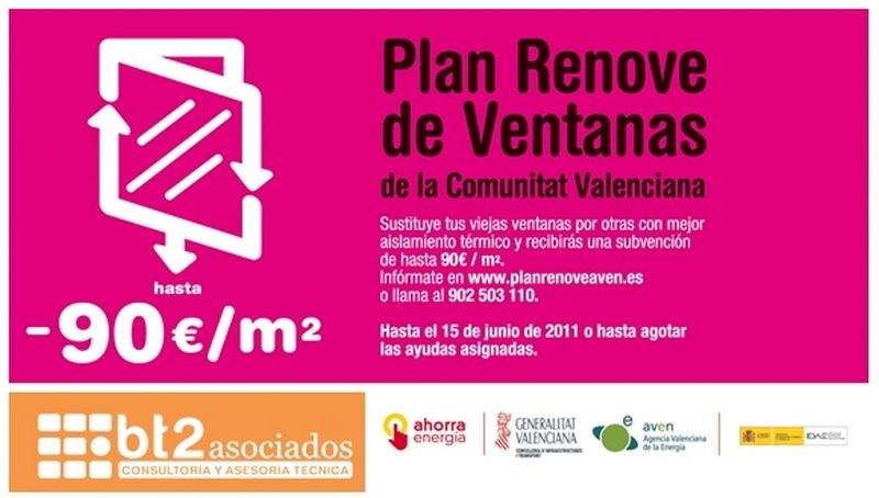 Plan Renove Ventanas 2015