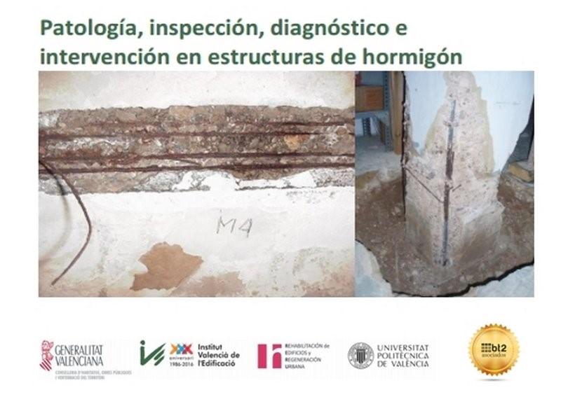 diagnóstico en intervención en estructuras de hormigón Valencia