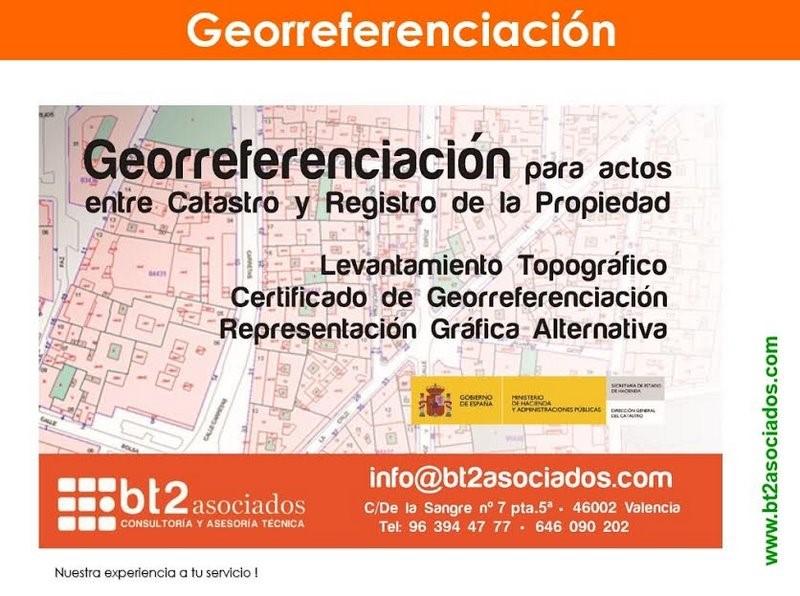 georreferenciación catastro y registro de propiedad