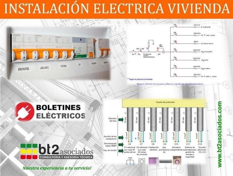 electrificación básica en vivienda