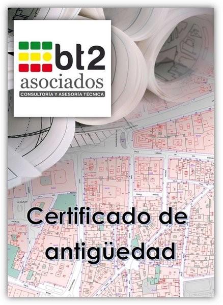 certificado de antigüedad