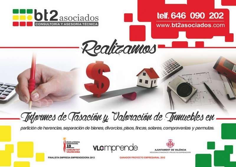 tasación y valoración inmobiliaria