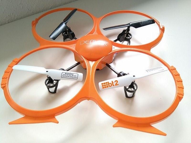 Uso de drones fotogrametría