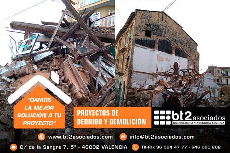demolición de edificios y construcciones