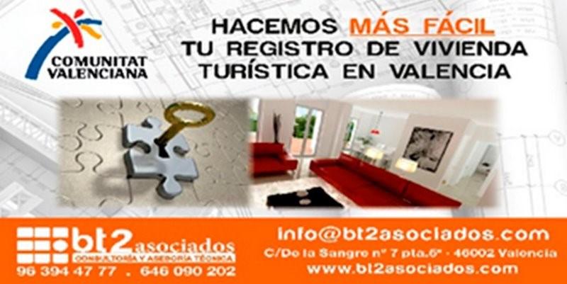 Suspensión licencias turísticas en Valencia | bt2asociados