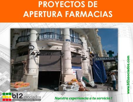 licencia de apertura farmacias | bt2