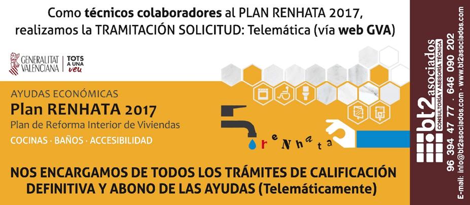 Plan RENHATA 2017 abono de ayudas | bt2 asociados