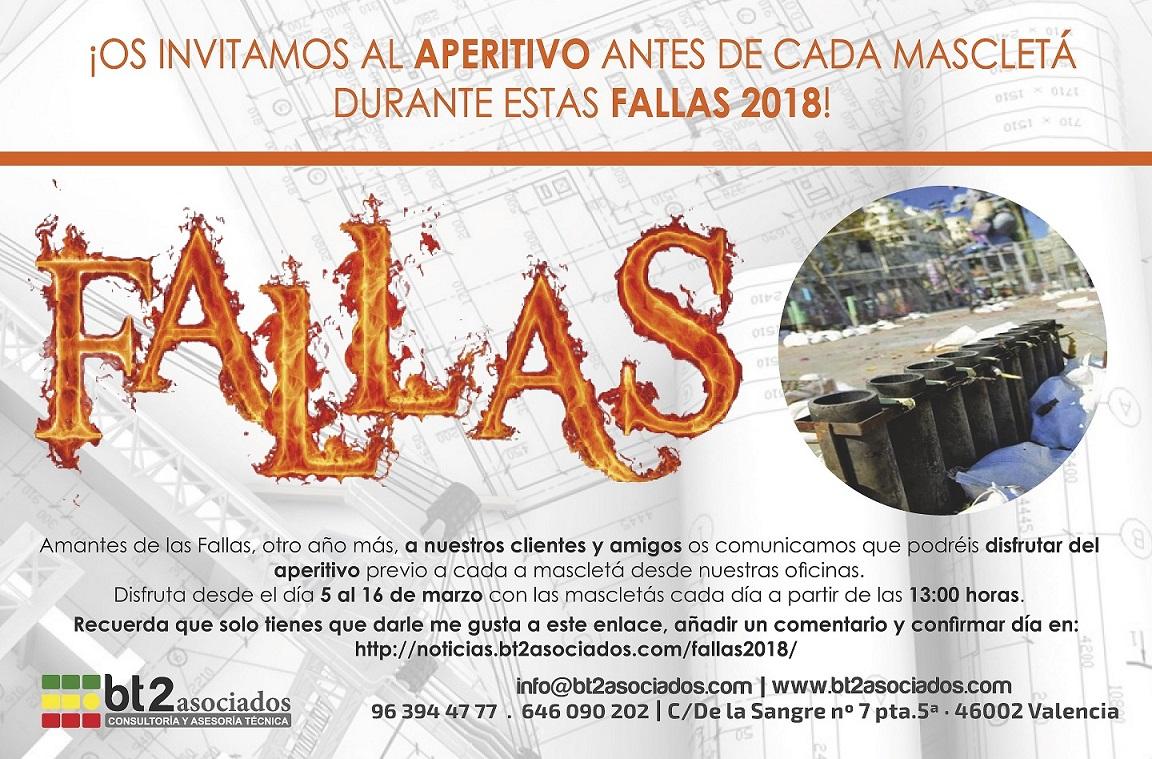 Fallas Valencia 2018 bt2asociados