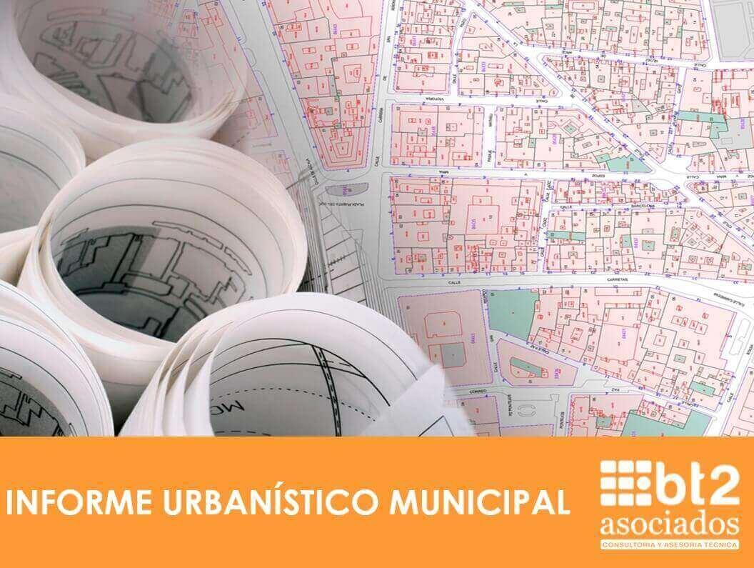 informe urbanístico municipal Valencia