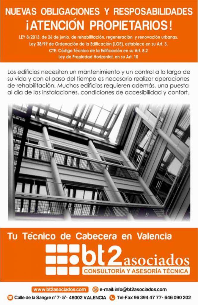tecnico cabecera comunidades Valencia