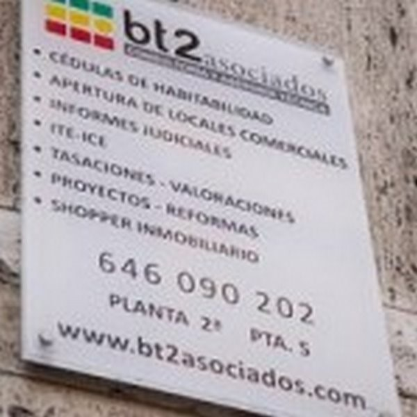 arquitecto tecnico valencia bt2 asociados