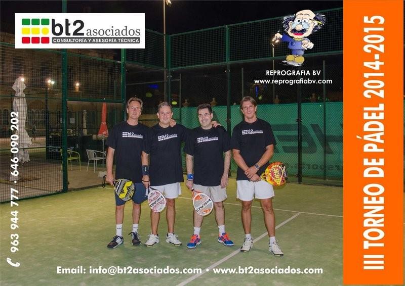 Torneo Padel Valencia bt2 asociados