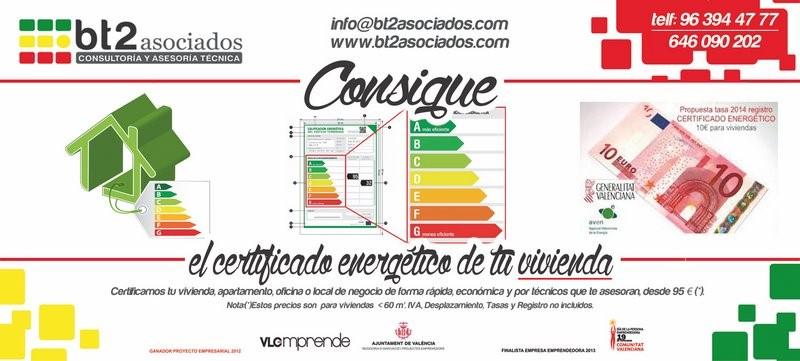 Certificado energético en Valencia