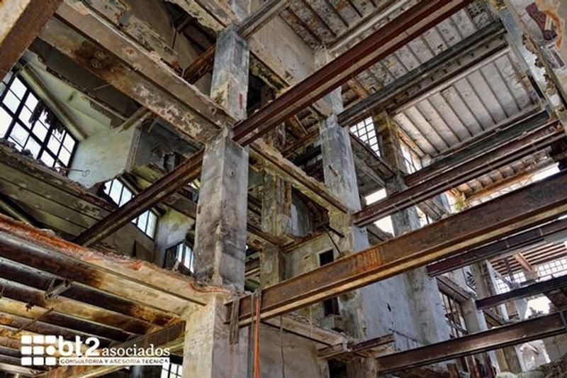 edificio en estado de ruinas