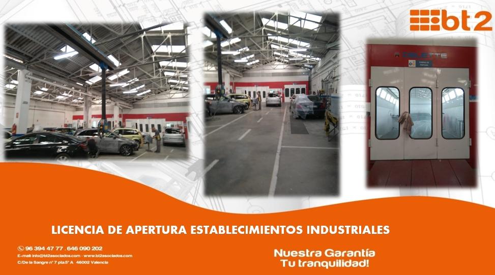 Apertura de Establecimientos Industriales bt2 asociados